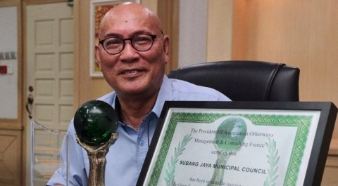 Subang Jaya City Council wins global Green Award