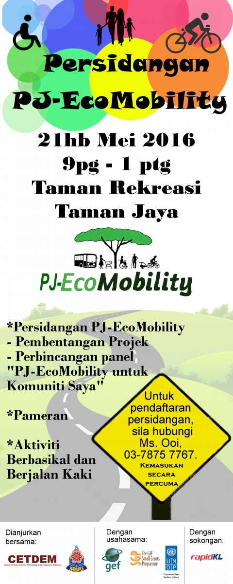 SAT, 21 MAY 2016, PJ-ECOMOBILITY CONFERENCE