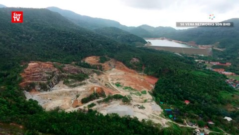 Massive clearing taking place at Teluk Bahang in Penang