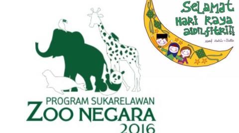Program Sukarelawan Zoo Negara 17.07.2016