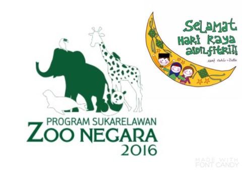 Program Sukarelawan Zoo Negara 10.07.16